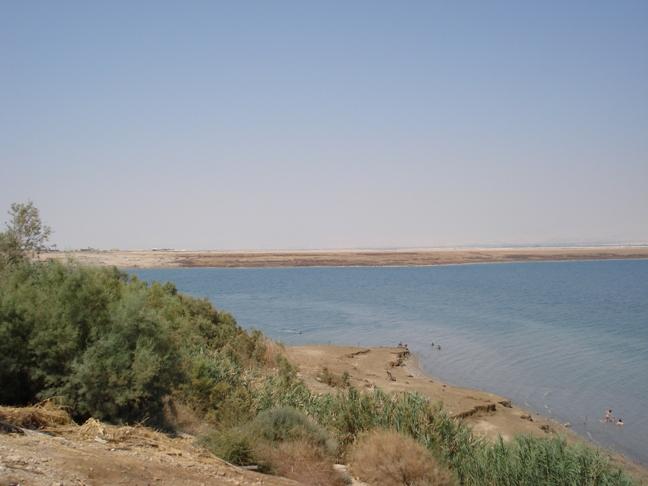 Totes Meer, Negev im Hintergrund